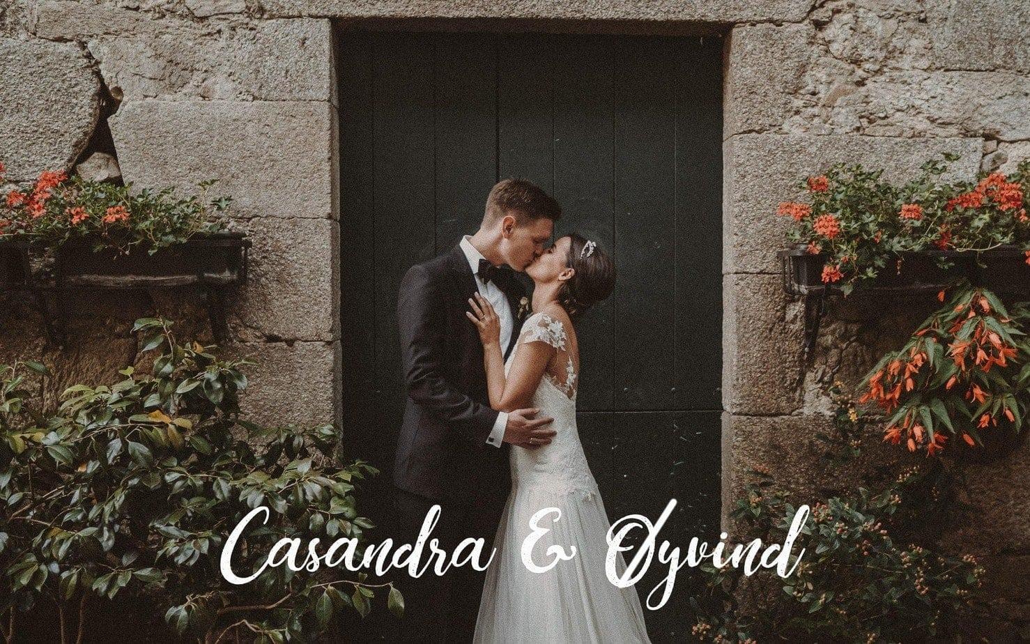 La Boda en A Quinta da Auga de Casandra & Øyvind